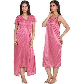8130e78f03 Buy Ansh Fashion Wear Satin Nighty   Night Gowns Online - Get 40% Off