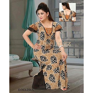 423c77e201 Hot Soft Sleep Gown Daily Nighty 1 Maxi Rich Viscose Fits S M L XL Lounge  Wear Prices in India- Shopclues- Online Shopping Store
