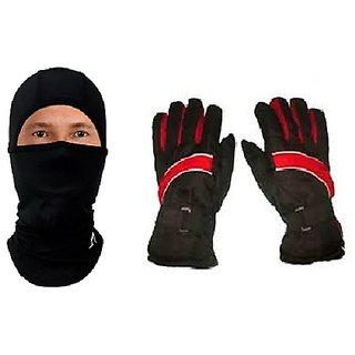 Combo Winter ProLiner Gloves+ Balaclava Face Mask
