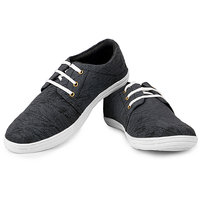 U2 Sneakers Men's Black Casual Shoes