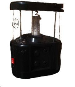 Solar Lantern with Panel , Adopter,Multi Mobile Charger etc.