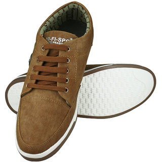 buy u2 sneakers men's tan casual shoes online  ₹499 from