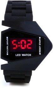 Skmei digital black watch by Bhavyam Fashion 6 month warranty