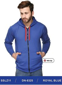100ANB Men's Blue Hooded Sweatshirts