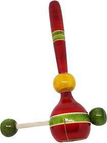 Kingini Wooden Bell Rattle