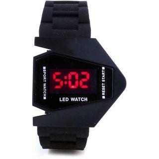 Skmei digital black watch by Bhavyam Fashion