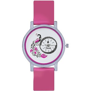 Naksh Fashion Designer Stylish Watch With Fancy Dial And Belt -FOR-women
