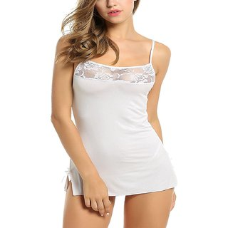 Aa Enterprises Sexy Honeymoon Lingerie For Women / Ladies and Girls Nightwear Net Babydoll Dress Sleepwear