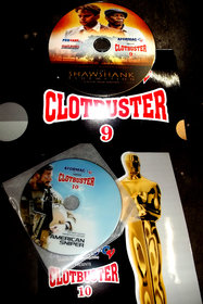 CLOTBUSTER Oscar Wining Film  9+10 Dvd (2 Pic DVD)