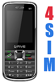 GFIVE W1 Four SIM Powerfull Battery