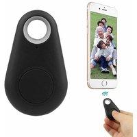 Tvisha Bluetooth Tracer Anti-Lost Alarm Remote Shutter Voice Recorder GPS Tracker Black.Key Finder Locator Alarm For IOS