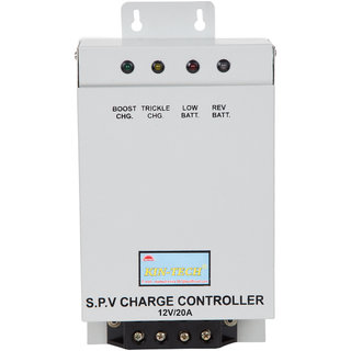 KIN-TECH 12V/20A PWM SOLAR CHARGE CONTROLLER