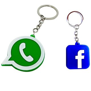 Facebook & Whatsapp Key-chain (Combo)