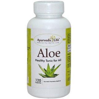 Ayurvedic Life Aloe 120 Capsules