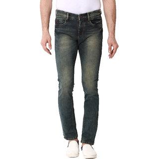 Kozzak Blue Slim Fit Stretchable Jeans