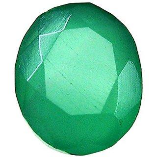 Onyx Gemstone Green Natural Loose Gemstone 5 Ct. by ReBuy