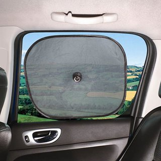 Car window Sunshade -  Black (Set of 2 )