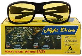 Adam Jones Yellow Night Vision Wrap-Around Unisex Sunglasses (Medium Size)