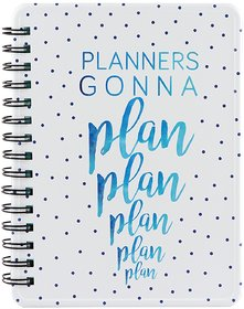 Happipress Plan It! Metal Planner