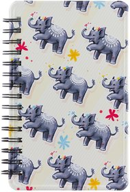 Happipress Happi Elephant Metal Journal