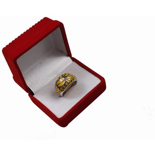 Stainless Steel Ring Yellow
