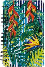 Happipress Tropical Paradise Metal Notebook