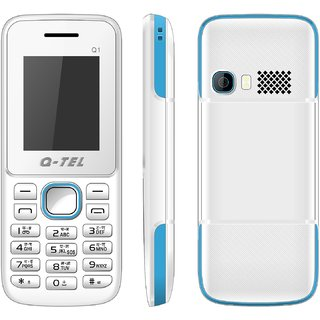 Q-Tel Q1 Mobile Phone 1.8 Bright Display 800 mAh Battery Bright Torch Wirefree FM BlueTooth Multiple Languages