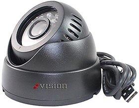ZVision CCTV Dome 24 IR Night Vision Camera DVR with Memory Card Slot Recording (USB)