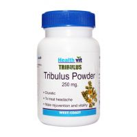 Buy 1 Get 1 Free HealthVit Tribulus Powder 250 Mg 60 Capsules (Pack Of 2)