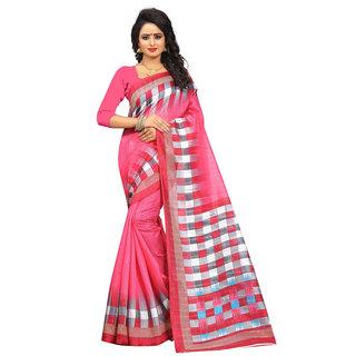 4Tigers New  Bhagalpuri Saree With Blouse Piece