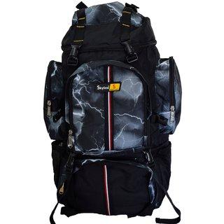 Skyline 25L Unisex Hiking/Trekking/Travelling/Camping Backpack Bag Rucksack Bag With Warranty-Grey 2407