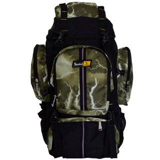 Skyline 25L Unisex Hiking/Trekking/Travelling/Camping Backpack Bag Rucksack Bag With Warranty-2407 Green
