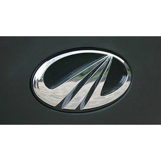 MAHINDRA XUV500 FRONT AND REAR CAR MONOGRAM /LOGO/EMBLEM chrome emblem