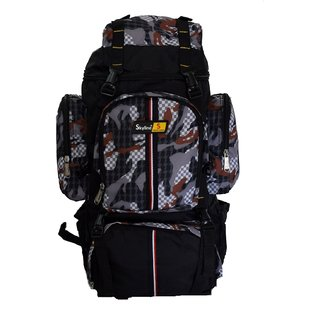 Skyline 25L Unisex Hiking/Trekking/Travelling/Camping Backpack Bag Rucksack Bag With Warranty-2407 Grey