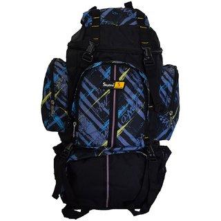 Skyline 25L Unisex Hiking/Trekking/Travelling/Camping Backpack Bag Rucksack Bag With Warranty-2407 Blue