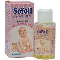 Buy 1 Get 1 Free Sofoil Baby Massage Oil 60ml (Pack Of 3)