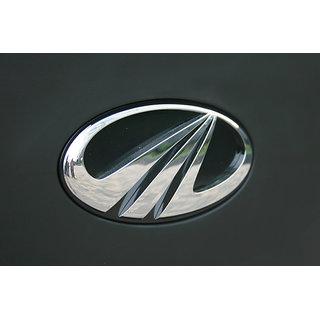 MAHINDRA BOLERO front CAR MONOGRAM /LOGO/EMBLEM chrome emblem