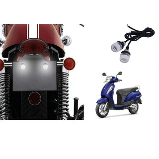 Autonity Bike LED Number/Licence Plate  White  Lights Set Of 2 for Suzuki Access 125