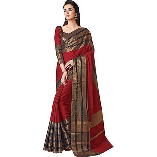 f12d5e6db0 Buy Indian Beauty Soft Art Cotton Silk Saree With Blouse Online @ ₹1129  from ShopClues