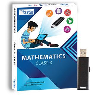 Letstute Maths For Class 10th CBSE - Pen Drive