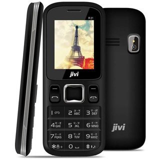 Jivi Mobile PhonesJIVIJ FPR 21  BLACK+GREY