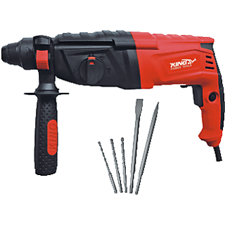 KING 26mm Rotary Hammer KP-309 with 5 bits free inside