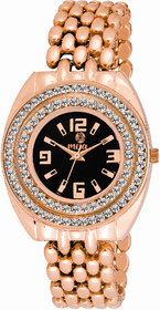 Meia Rose Gold Party Analog Watch For Women  Girls