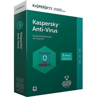 Kaspersky Anti-Virus Latest Version - 1 PC  3 Year Latest Version