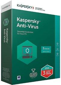 Kaspersky Anti-Virus Latest Version - 3 PC, 1 Year Latest Version