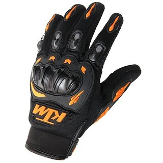KTM Full Finger Bike Riding Gloves By GurujiMart