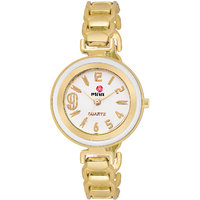 Meia Original Gold Party Analog Watch For Women  Girls