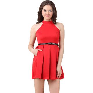 texco Red Women's Dresses
