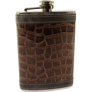 270ml 9oz Pocket Hip Flask Stainless Steel Bottle Liquor Drink Ware -11