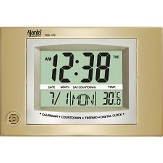 Ajanta Digital Wall Clock ODC-170 Assorted colour